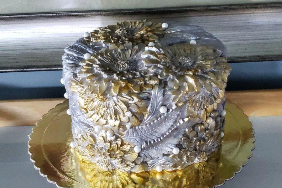 Bas-Relief Cake
