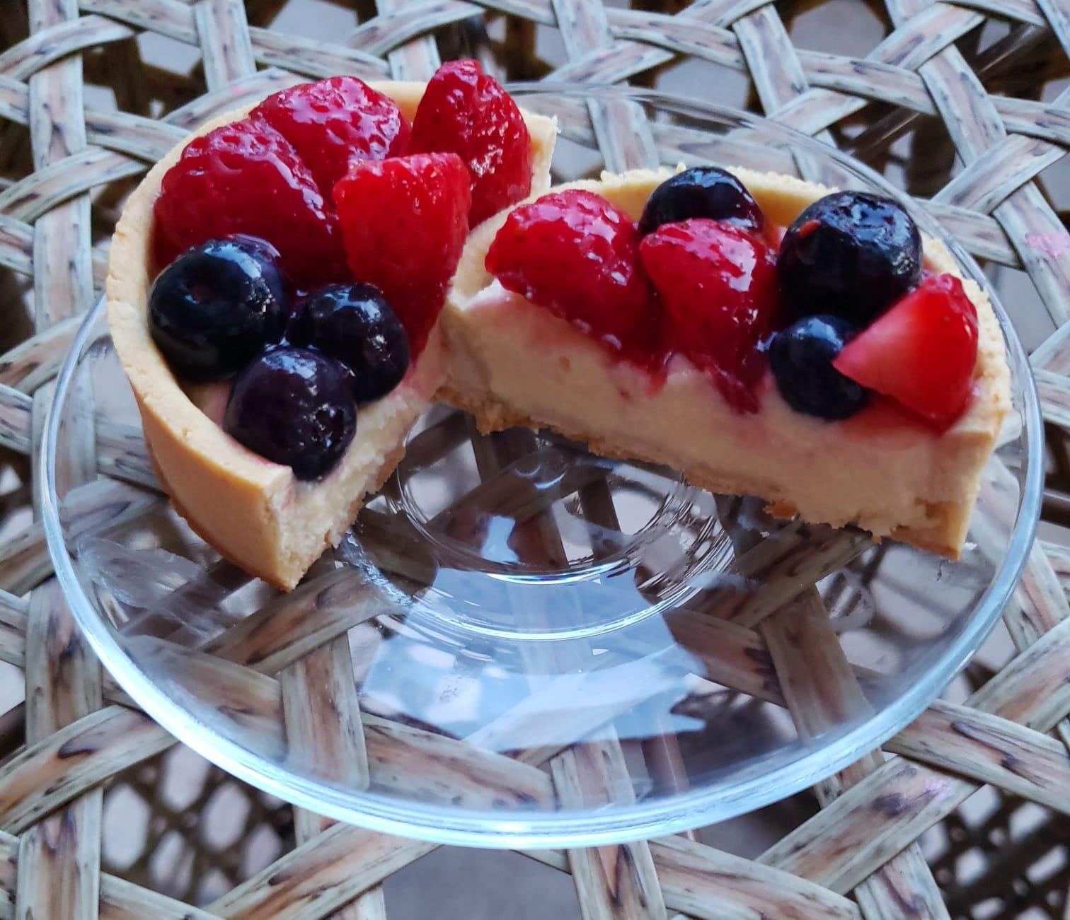 Round Tarts (Fruit Or Chocolate )