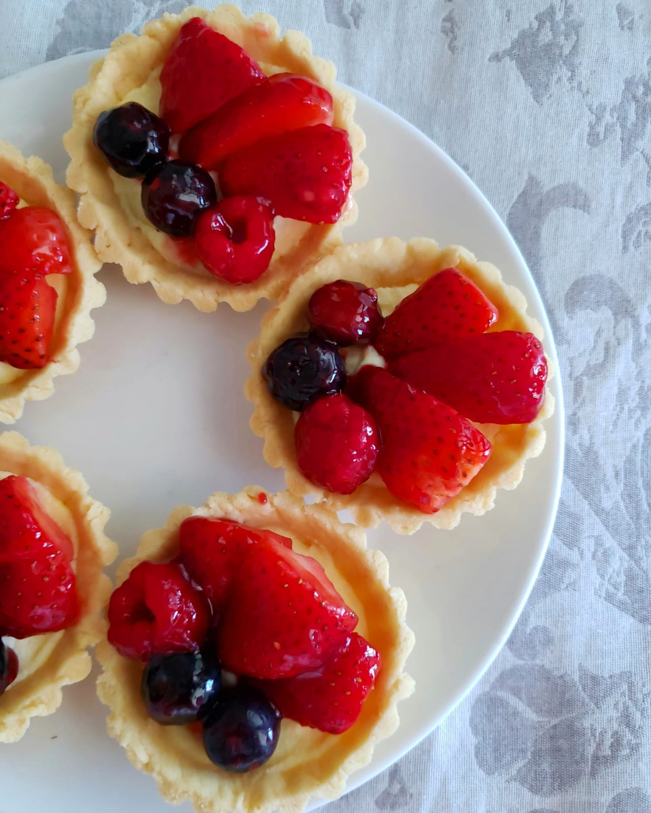 Mini Tarts (Fruit Or Chocolate)