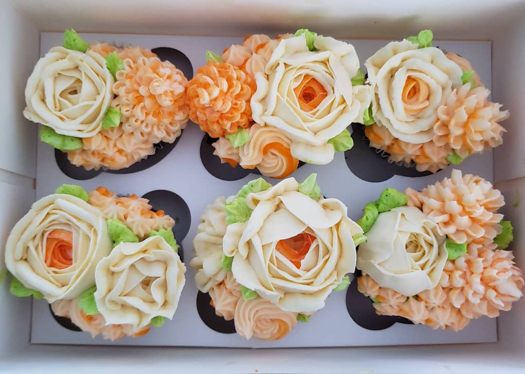 Women's Day Cupcakes