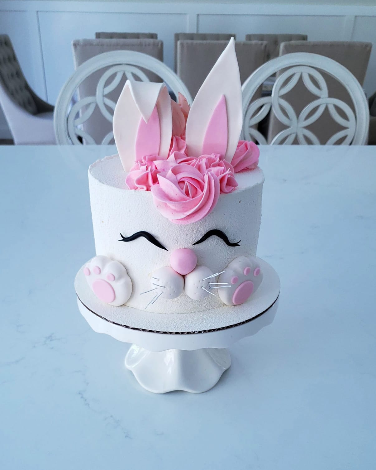 Children's Bunny Cake